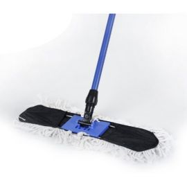Dust Control White Mop Complete Set