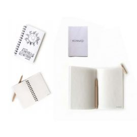 ECOSWAP 100% RECYCLED PLANTABLE PAPER NOTEBOOKS