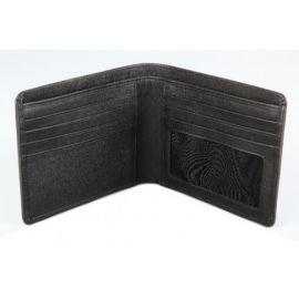 Elan Classic Lth Bifold Card Wallet-Black