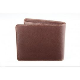 Elan Classic Lth Bifold Card Wallet-Brown