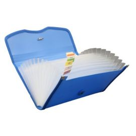 Expanding Cheque Case - Elastic - 12 Section Ex701