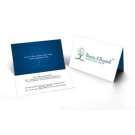 Folded Visiting Card 1(100 Cards)