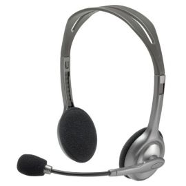 Logitech H110 Stereo Headset, Black & Grey