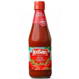 Kissan Fresh Tomato Ketchup Bottle, 500 Grams