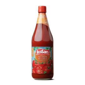 Kissan No Onion No Garlic Sauce Bottle, 1kg