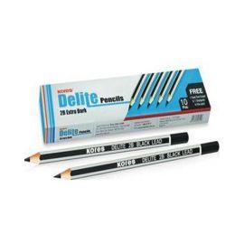 Kores Delite Pencil Hb Extra Dark - PK Of 10