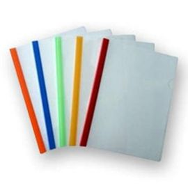 Milky Polypropylene Strip Folder Size A4