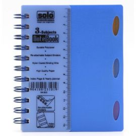 3-Subjects Note Book (240 Pages(NA633))