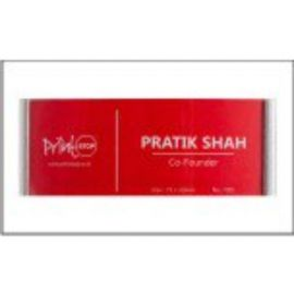 Name Badges 7001 Silver (75Mm X 32Mm)