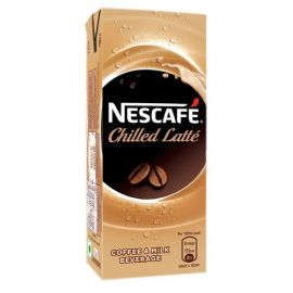 Nescafe Chilled Latte Coffee 180 Ml - PK Of 30