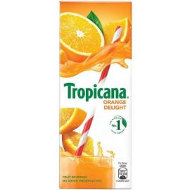 Tropicana Orange Delight Fruit Beverage 200 Ml - PK Of 30