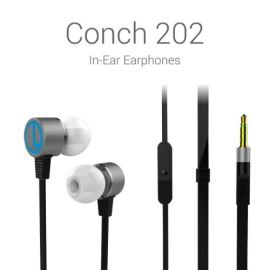 Portronics Conch 202 (Black) In-Ear Stereo Headphone