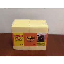 Post - It Meetings 2.0 - 2X3 Yellow Notes 11+ 1 PK