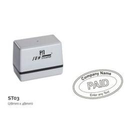 Preinked Stamp 28Mm Ă— 48Mm