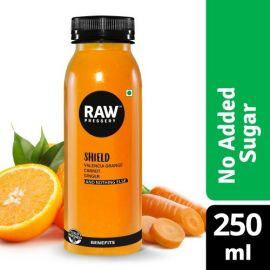 Raw Shield Orange Carrots & Ginger 250Ml