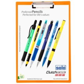 Exam Pad New Vibrant Colors Sb002 Fc Size