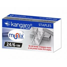 Kangaro 24/6 Staple Pin - (100 Pack)