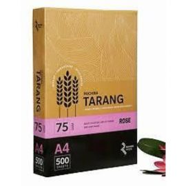 Tarang A4 Multi Purpose Office Paper 80 Gsm Pink 500 Sheets - 1 PK