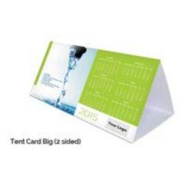 Tent Card Calendar (2 Sided) (20 Pcs)