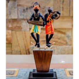 Tribal Musician Couple Memento