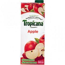 Tropicana 100% Juice Apple 200Ml