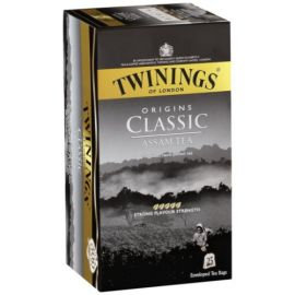 Twinings Classic Assam Tea 25 Tea Bags 50G