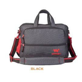 Wildcraft Port-Folio Sling Bag - Black
