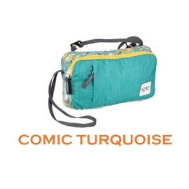 Wildcraft Sling Bag Wristlet M Comic Turquoise