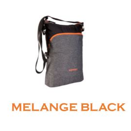 Wildcraft Wrap-It Messenger For Women - Melange Black